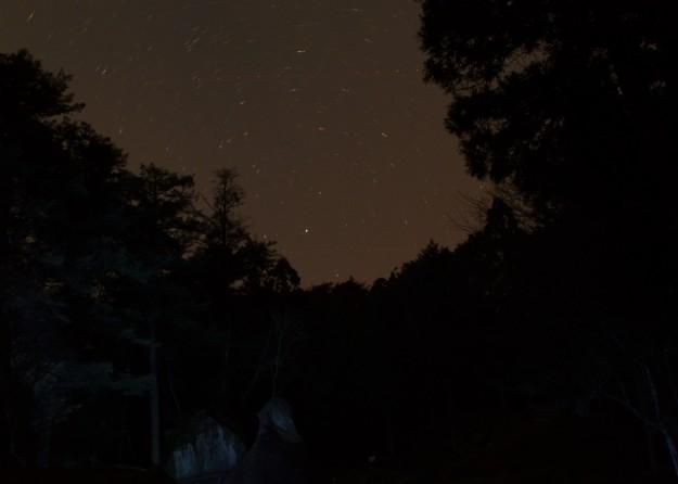 Stars over Iwaya